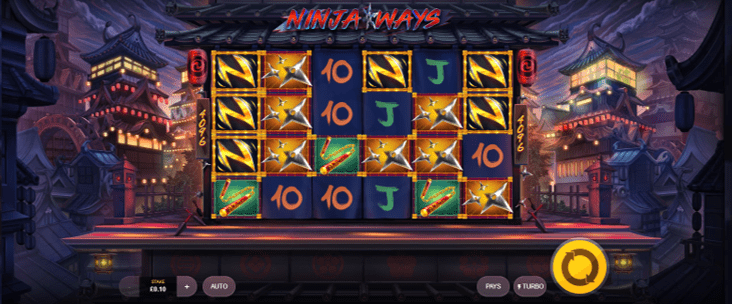 Ninja Ways - Online Casino Games UK
