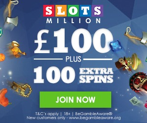 slots million welcome offer