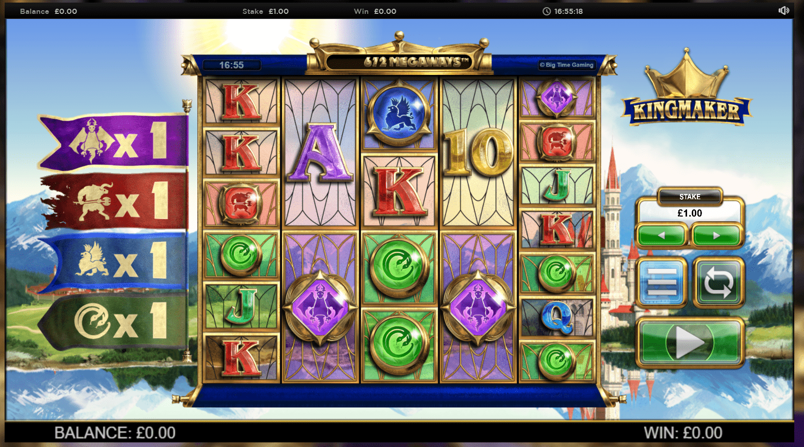 Kingmaker - Online Casino UK