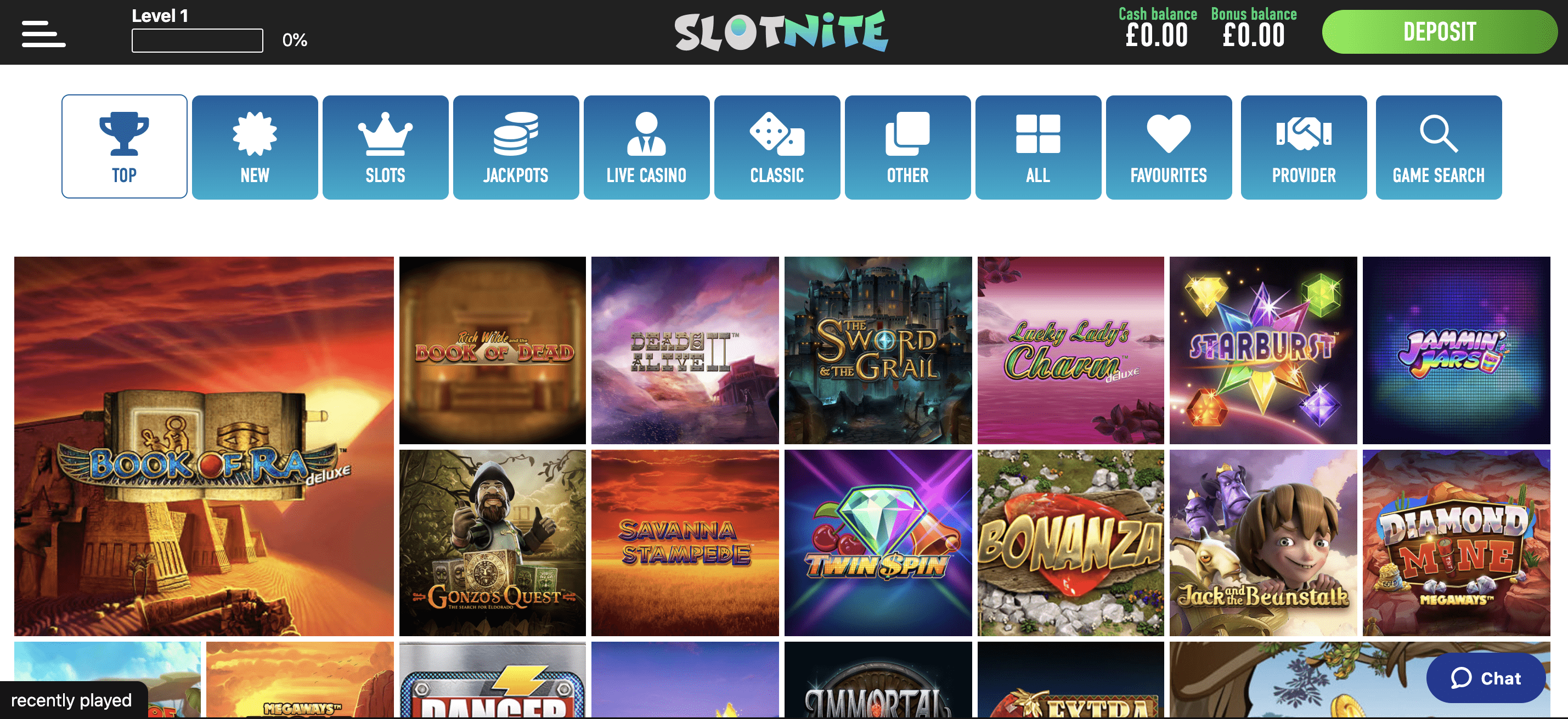 Slotnite - Best online casino games uk